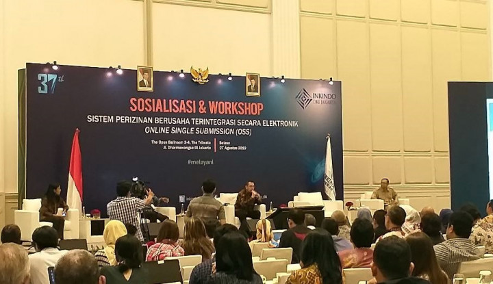 300 Konsultan Ikuti Sosialisasi Pelayanan Terpadu Satu Pintu