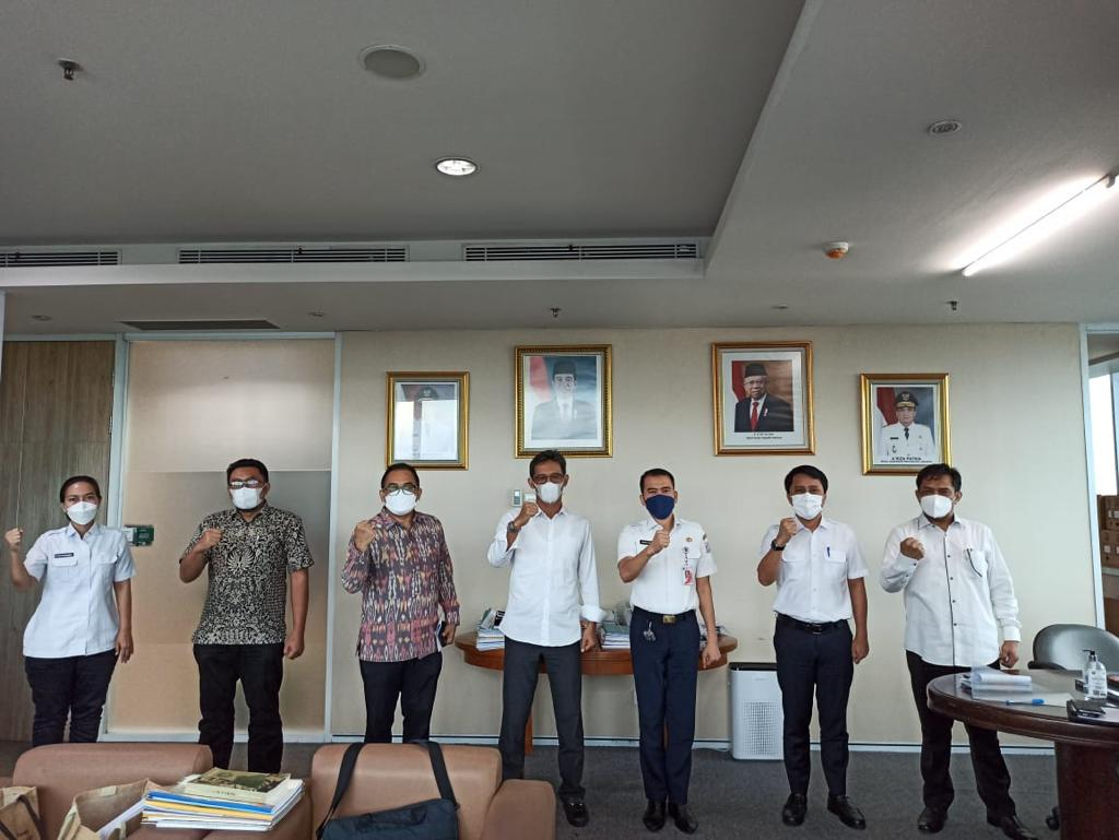 Audiensi dengan Pemprov DKI Jakarta yang diwakili oleh Biro Kerjasama Daerah (KSD) Setda Pemprov DKI Jakarta <h6>16 Juni 2021</h6>