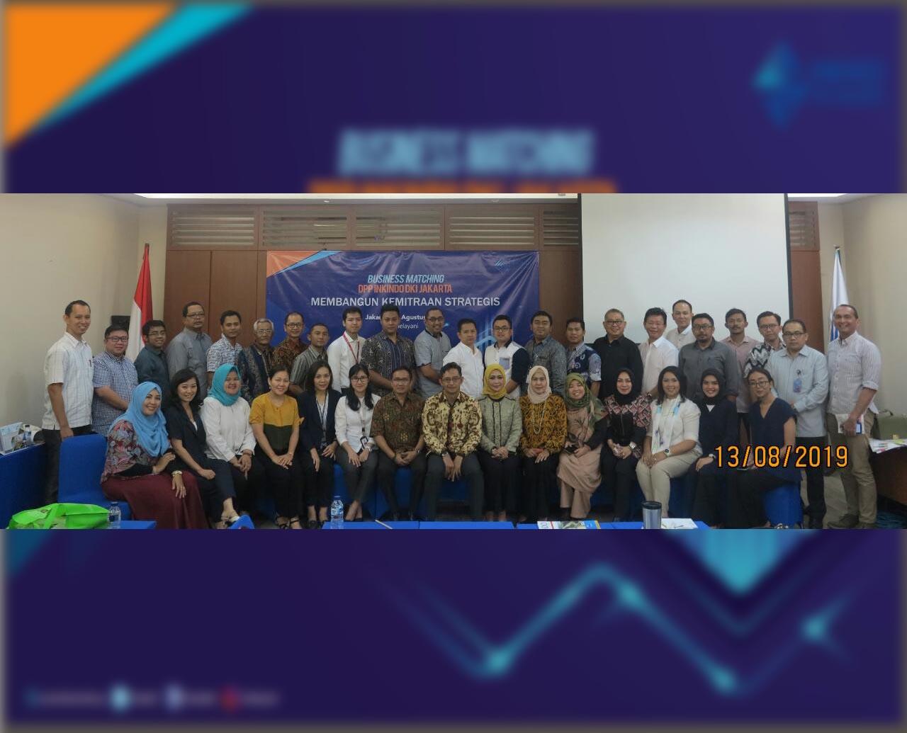 DPP INKINDO DKI JAKARTA Jalin Sinergi Tingkatkan Bisnis Kosultan