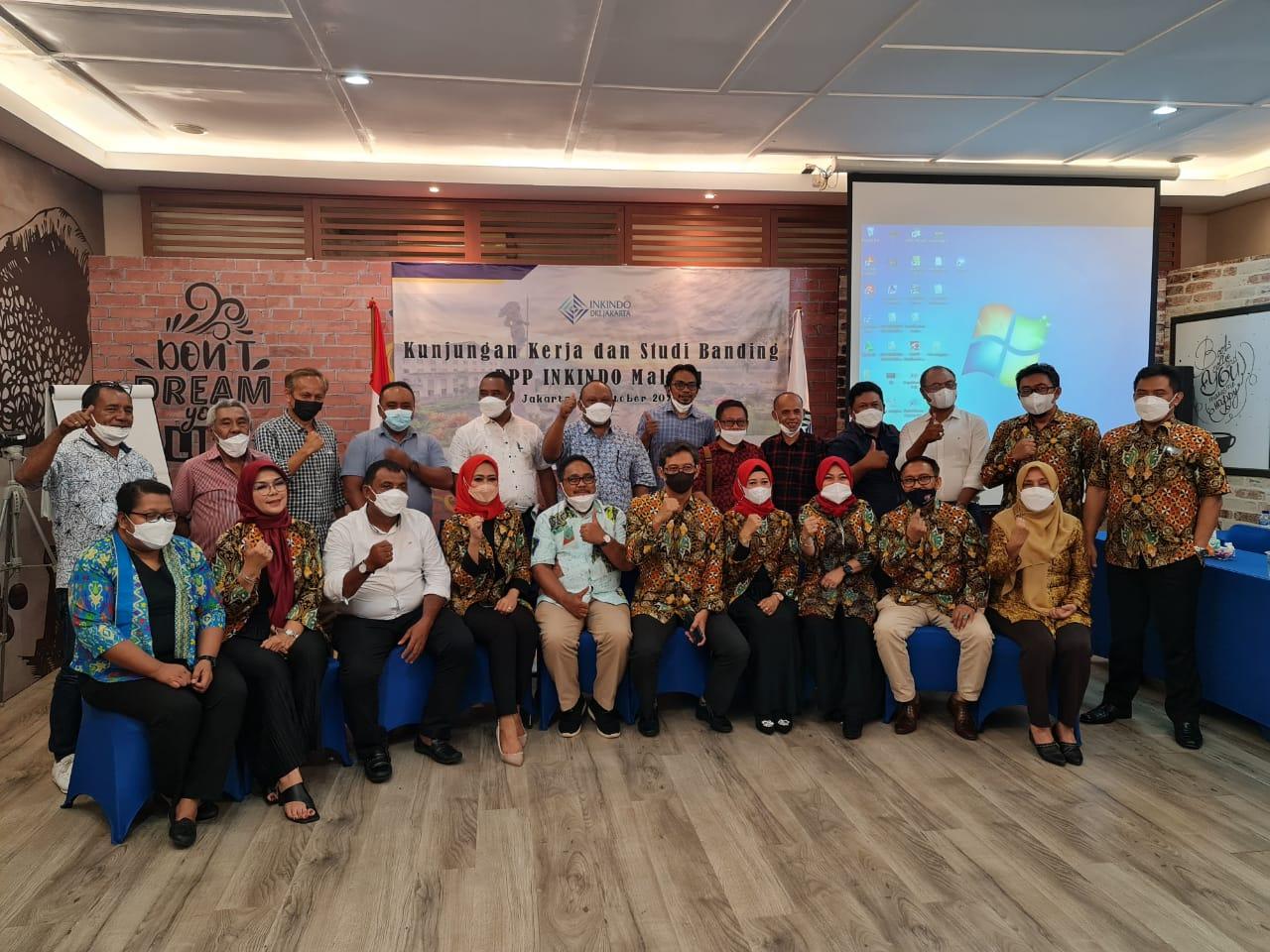 Kunjungan DPP INKINDO Maluku ke INKINDO DKI Jakarta