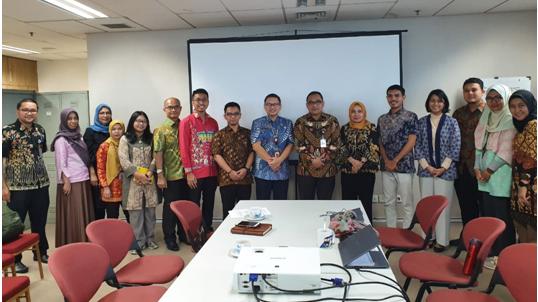Hasil Konsultasi  Kajian Regenerasi Ibukota Jakarta di kantor BAPPEDA Provinsi DKI Jakarta