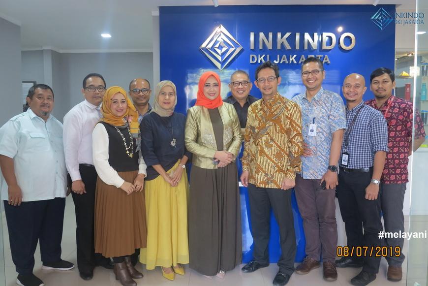 INKINDO DKI Jakarta Kerjasama dengan Bank DKI Berikan Kredit Modal Kerja Tanpa Agunan