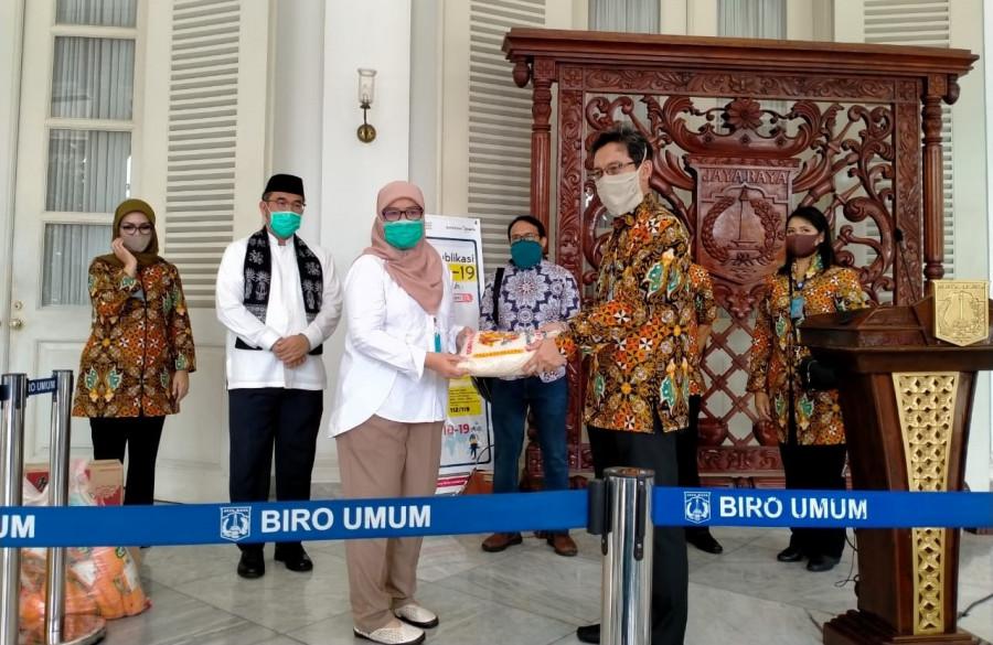 INKINDO DKI Jakarta Serahkan Bantuan Untuk Penanganan Covid-19