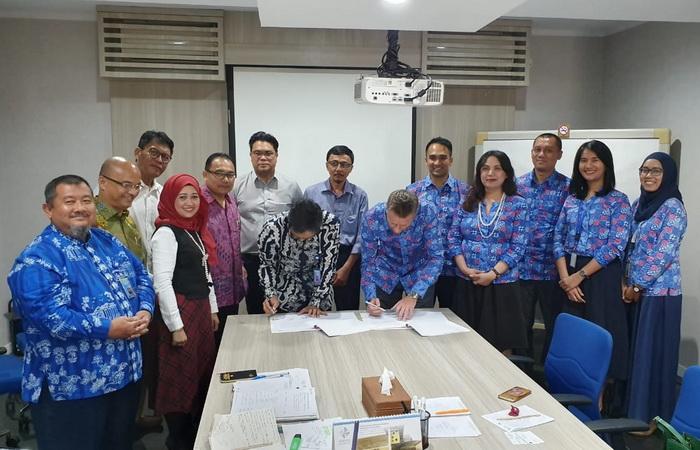 Penandatanganan Perjanjian Kerjasama INKINDO DKI Jakarta dan PT Asuransi AXA Indonesia