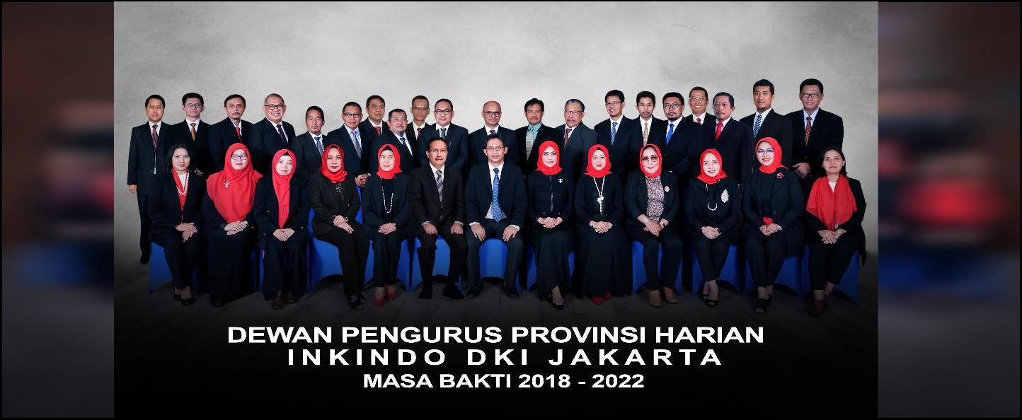 SUSUNAN DPPH INKINDO DKI MASA BAKTI 2018-2022